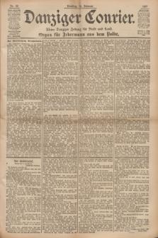 Danziger Courier : Kleine Danziger Zeitung für Stadt und Land : Organ für Jedermann aus dem Volke. Jg.16, Nr. 39 (16 Februar 1897)