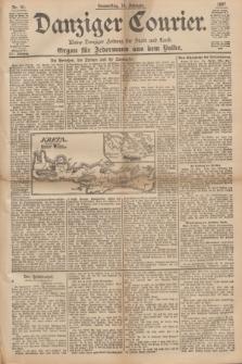 Danziger Courier : Kleine Danziger Zeitung für Stadt und Land : Organ für Jedermann aus dem Volke. Jg.16, Nr. 41 (18 Februar 1897)