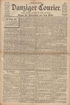 Danziger Courier : Kleine Danziger Zeitung für Stadt und Land : Organ für Jedermann aus dem Volke. Jg.16, Nr. 48 (26 Februar 1897) + dod.