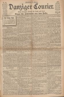 Danziger Courier : Kleine Danziger Zeitung für Stadt und Land : Organ für Jedermann aus dem Volke. Jg.16, Nr. 49 (27 Februar 1897)