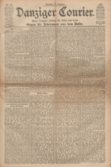 Danziger Courier : Kleine Danziger Zeitung für Stadt und Land : Organ für Jedermann aus dem Volke. Jg.16, Nr. 50 (28 Februar 1897) + dod.