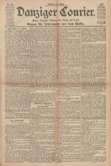 Danziger Courier : Kleine Danziger Zeitung für Stadt und Land : Organ für Jedermann aus dem Volke. Jg.16, Nr. 63 (16 März 1897)
