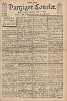 Danziger Courier : Kleine Danziger Zeitung für Stadt und Land : Organ für Jedermann aus dem Volke. Jg.16, Nr. 80 (4 April 1897) + dod.