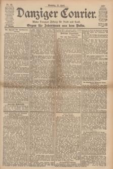 Danziger Courier : Kleine Danziger Zeitung für Stadt und Land : Organ für Jedermann aus dem Volke. Jg.16, Nr. 86 (11 April 1897) + dod.