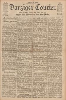 Danziger Courier : Kleine Danziger Zeitung für Stadt und Land : Organ für Jedermann aus dem Volke. Jg.16, Nr. 91 (18 April 1897) + dod.
