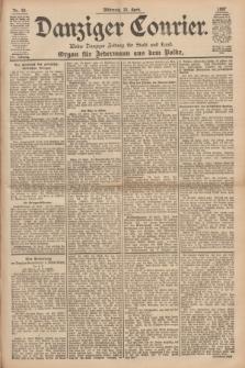 Danziger Courier : Kleine Danziger Zeitung für Stadt und Land : Organ für Jedermann aus dem Volke. Jg.16, Nr. 92 (21 April 1897)