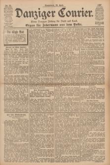 Danziger Courier : Kleine Danziger Zeitung für Stadt und Land : Organ für Jedermann aus dem Volke. Jg.16, Nr. 95 (24 April 1897)