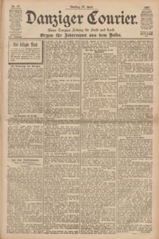 Danziger Courier : Kleine Danziger Zeitung für Stadt und Land : Organ für Jedermann aus dem Volke. Jg.16, Nr. 97 (27 April 1897)