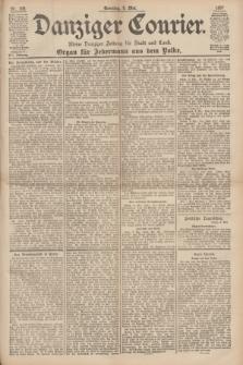 Danziger Courier : Kleine Danziger Zeitung für Stadt und Land : Organ für Jedermann aus dem Volke. Jg.16, Nr. 108 (9 Mai 1897) + dod.