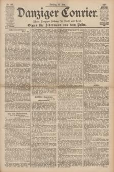 Danziger Courier : Kleine Danziger Zeitung für Stadt und Land : Organ für Jedermann aus dem Volke. Jg.16, Nr. 109 (11 Mai 1897)