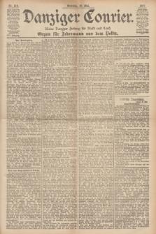 Danziger Courier : Kleine Danziger Zeitung für Stadt und Land : Organ für Jedermann aus dem Volke. Jg.16, Nr. 114 (16 Mai 1897) + dod.