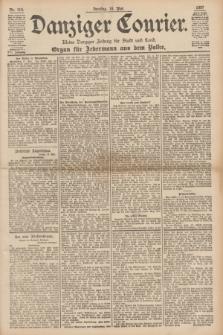 Danziger Courier : Kleine Danziger Zeitung für Stadt und Land : Organ für Jedermann aus dem Volke. Jg.16, Nr. 115 (18 Mai 1897)