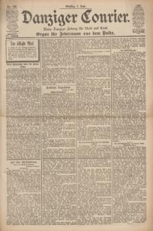 Danziger Courier : Kleine Danziger Zeitung für Stadt und Land : Organ für Jedermann aus dem Volke. Jg.16, Nr. 126 (1 Juni 1897)