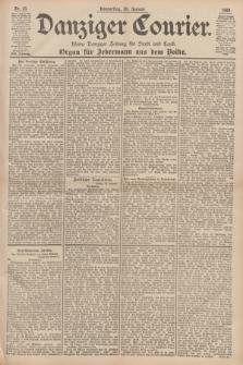 Danziger Courier : Kleine Danziger Zeitung für Stadt und Land : Organ für Jedermann aus dem Volke. Jg.17, Nr. 16 (20 Januar 1898)