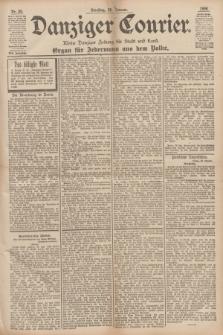 Danziger Courier : Kleine Danziger Zeitung für Stadt und Land : Organ für Jedermann aus dem Volke. Jg.17, Nr. 20 (25 Januar 1898)