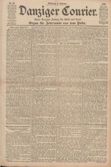 Danziger Courier : Kleine Danziger Zeitung für Stadt und Land : Organ für Jedermann aus dem Volke. Jg.17, Nr. 33 (9 Februar 1898)