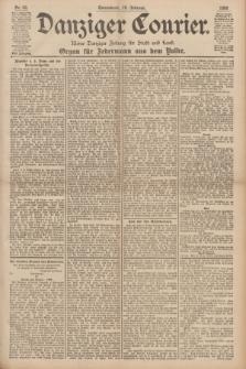 Danziger Courier : Kleine Danziger Zeitung für Stadt und Land : Organ für Jedermann aus dem Volke. Jg.17, Nr. 42 (19 Februar 1898)