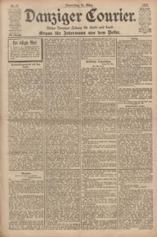 Danziger Courier : Kleine Danziger Zeitung für Stadt und Land : Organ für Jedermann aus dem Volke. Jg.17, Nr. 76 (31 März 1898)
