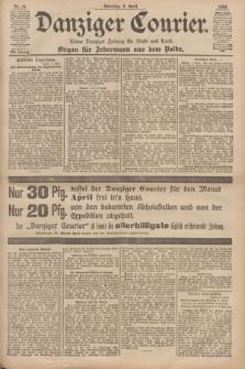 Danziger Courier : Kleine Danziger Zeitung für Stadt und Land : Organ für Jedermann aus dem Volke. Jg.17, Nr. 79 (3 April 1898) + dod.