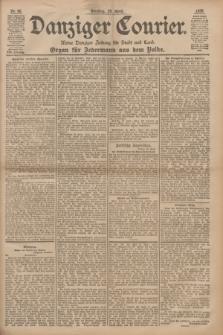 Danziger Courier : Kleine Danziger Zeitung für Stadt und Land : Organ für Jedermann aus dem Volke. Jg.17, Nr. 90 (19 April 1898)