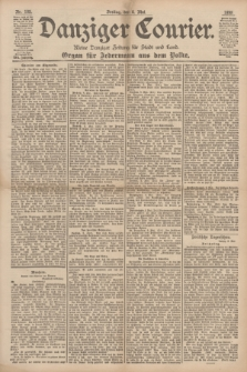 Danziger Courier : Kleine Danziger Zeitung für Stadt und Land : Organ für Jedermann aus dem Volke. Jg.17, Nr. 105 (6 Mai 1898)