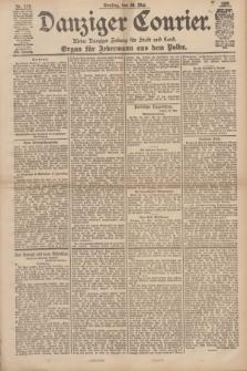 Danziger Courier : Kleine Danziger Zeitung für Stadt und Land : Organ für Jedermann aus dem Volke. Jg.17, Nr. 119 (24 Mai 1898)