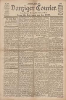 Danziger Courier : Kleine Danziger Zeitung für Stadt und Land : Organ für Jedermann aus dem Volke. Jg.17, Nr. 126 (2 Juni 1898)