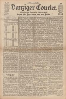 Danziger Courier : Kleine Danziger Zeitung für Stadt und Land : Organ für Jedermann aus dem Volke. Jg.17, Nr. 163 (15 Juli 1898)