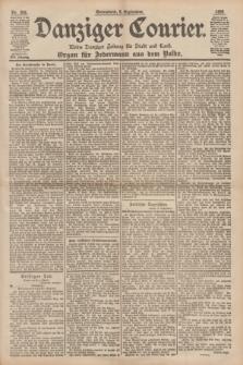 Danziger Courier : Kleine Danziger Zeitung für Stadt und Land : Organ für Jedermann aus dem Volke. Jg.17, Nr. 206 (3 September 1898)