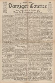 Danziger Courier : Kleine Danziger Zeitung für Stadt und Land : Organ für Jedermann aus dem Volke. Jg.17, Nr. 233 (5 Oktober 1898)