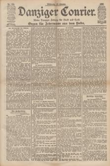 Danziger Courier : Kleine Danziger Zeitung für Stadt und Land : Organ für Jedermann aus dem Volke. Jg.17, Nr. 245 (19 Oktober 1898)