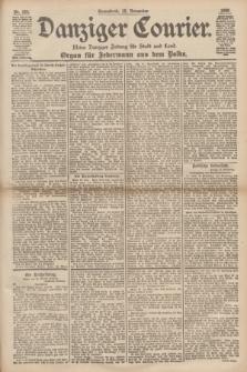 Danziger Courier : Kleine Danziger Zeitung für Stadt und Land : Organ für Jedermann aus dem Volke. Jg.17, Nr. 266 (12 November 1898)