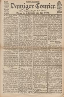 Danziger Courier : Kleine Danziger Zeitung für Stadt und Land : Organ für Jedermann aus dem Volke. Jg.17, Nr. 275 (24 November 1898)