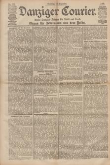 Danziger Courier : Kleine Danziger Zeitung für Stadt und Land : Organ für Jedermann aus dem Volke. Jg.17, Nr. 296 (18 Dezember 1898) + dod.