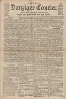 Danziger Courier : Kleine Danziger Zeitung für Stadt und Land : Organ für Jedermann aus dem Volke. Jg.17, Nr. 300 (23 Dezember 1898) + dod.