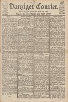 Danziger Courier : Kleine Danziger Zeitung für Stadt und Land : Organ für Jedermann aus dem Volke. Jg.18, Nr. 261 (5 November 1899) + dod.