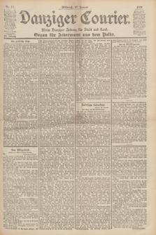 Danziger Courier : Kleine Danziger Zeitung für Stadt und Land : Organ für Jedermann aus dem Volke. Jg.19, Nr. 13 (17 Januar 1900)