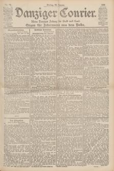 Danziger Courier : Kleine Danziger Zeitung für Stadt und Land : Organ für Jedermann aus dem Volke. Jg.19, Nr. 15 (19 Januar 1900)