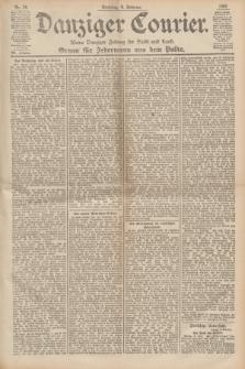 Danziger Courier : Kleine Danziger Zeitung für Stadt und Land : Organ für Jedermann aus dem Volke. Jg.19, Nr. 29 (4 Februar 1900) + dod.