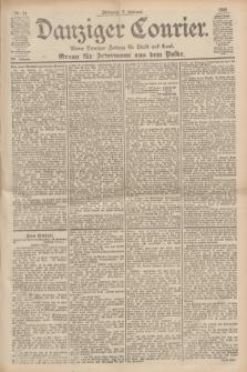 Danziger Courier : Kleine Danziger Zeitung für Stadt und Land : Organ für Jedermann aus dem Volke. Jg.19, Nr. 31 (7 Februar 1900)