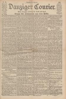 Danziger Courier : Kleine Danziger Zeitung für Stadt und Land : Organ für Jedermann aus dem Volke. Jg.19, Nr. 36 (13 Februar 1900)