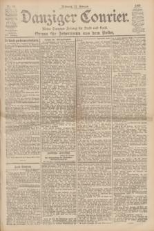 Danziger Courier : Kleine Danziger Zeitung für Stadt und Land : Organ für Jedermann aus dem Volke. Jg.19, Nr. 43 (21 Februar 1900)