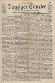 Danziger Courier : Kleine Danziger Zeitung für Stadt und Land : Organ für Jedermann aus dem Volke. Jg.19, Nr. 50 (1 März 1900)