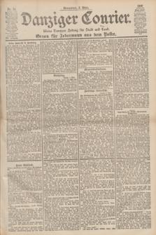 Danziger Courier : Kleine Danziger Zeitung für Stadt und Land : Organ für Jedermann aus dem Volke. Jg.19, Nr. 52 (3 März 1900)