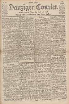 Danziger Courier : Kleine Danziger Zeitung für Stadt und Land : Organ für Jedermann aus dem Volke. Jg.19, Nr. 54 (6 März 1900)