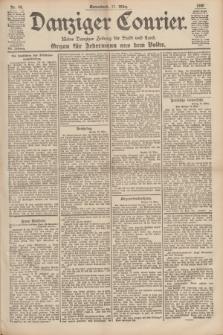 Danziger Courier : Kleine Danziger Zeitung für Stadt und Land : Organ für Jedermann aus dem Volke. Jg.19, Nr. 64 (17 März 1900)