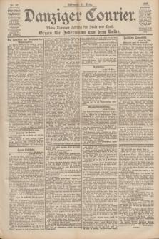 Danziger Courier : Kleine Danziger Zeitung für Stadt und Land : Organ für Jedermann aus dem Volke. Jg.19, Nr. 67 (21 März 1900)