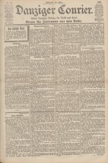 Danziger Courier : Kleine Danziger Zeitung für Stadt und Land : Organ für Jedermann aus dem Volke. Jg.19, Nr. 73 (28 März 1900)