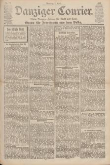 Danziger Courier : Kleine Danziger Zeitung für Stadt und Land : Organ für Jedermann aus dem Volke. Jg.19, Nr. 77 (1 April 1900) + dod.