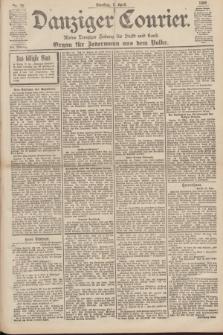 Danziger Courier : Kleine Danziger Zeitung für Stadt und Land : Organ für Jedermann aus dem Volke. Jg.19, Nr. 78 (3 April 1900)